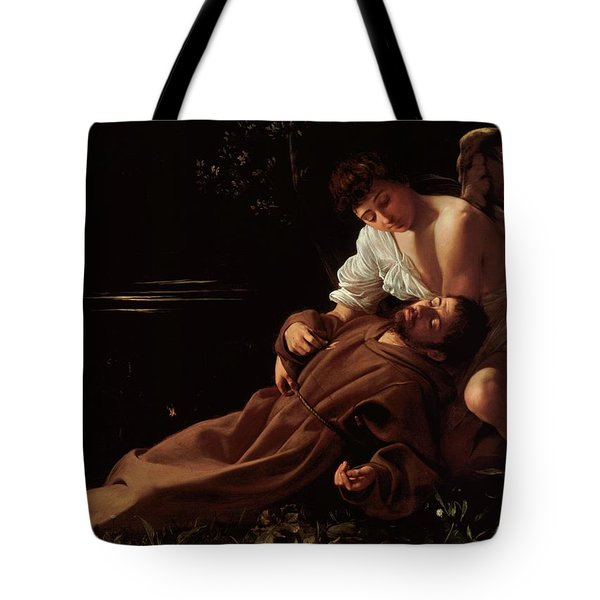 The Ecstacy Of Saint Francis Of Assisi Tote Bag
