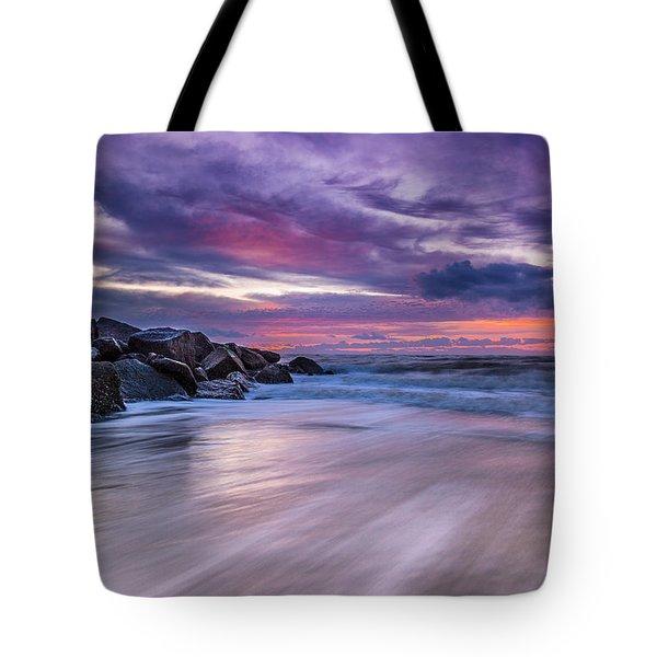 The Edge - Folly Beach, Sc Tote Bag