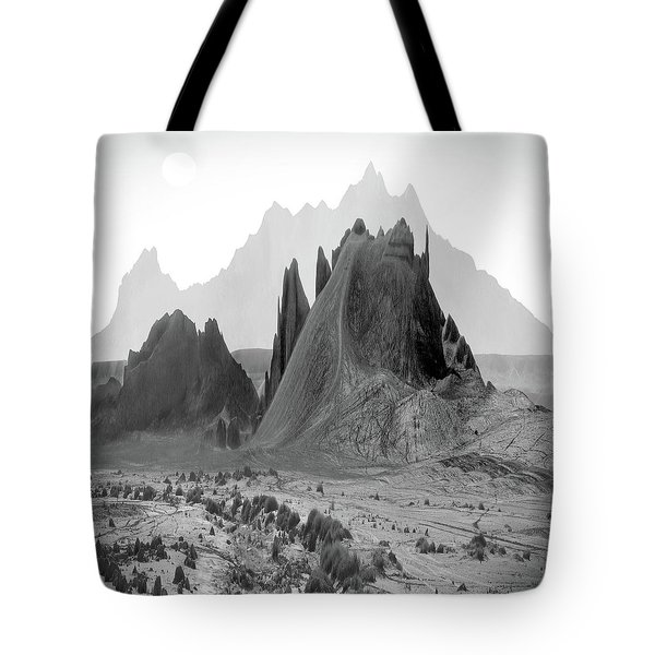 The Edge Tote Bag by Mike McGlothlen