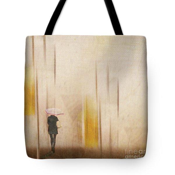 The Edge Of Autumn Tote Bag