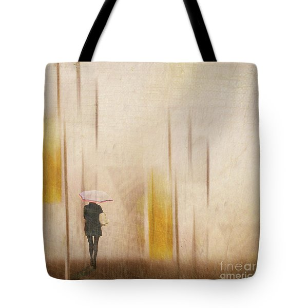 Tote Bag featuring the photograph The Edge Of Autumn by LemonArt Photography