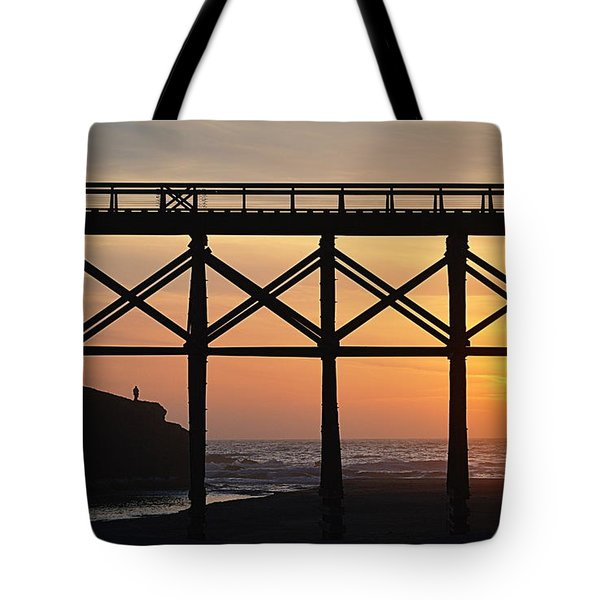 The Edge Of Night Tote Bag