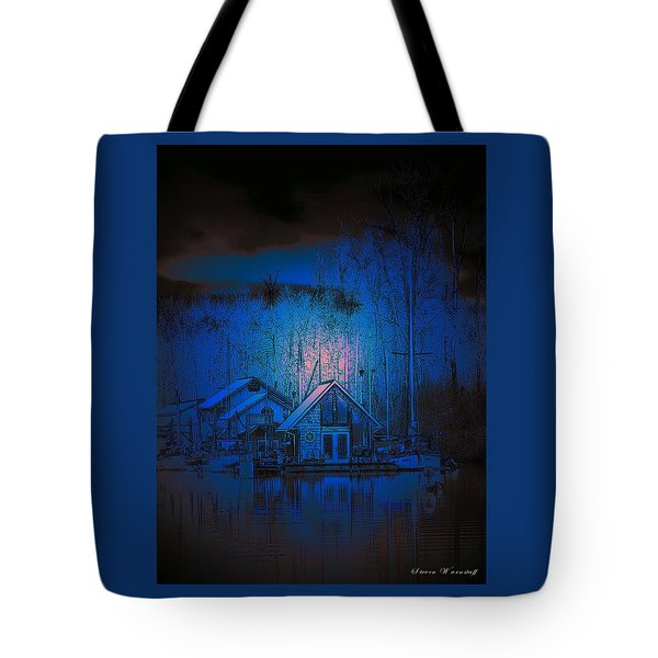 The Edge Of Night Tote Bag by Steve Warnstaff