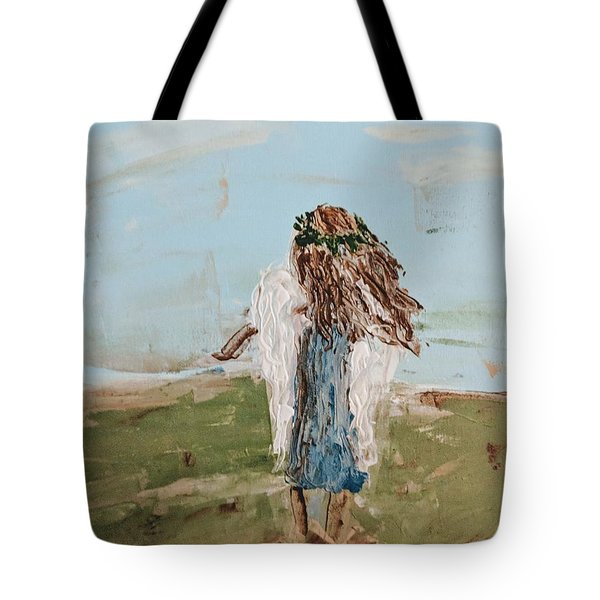 The Edge Of The Field Tote Bag