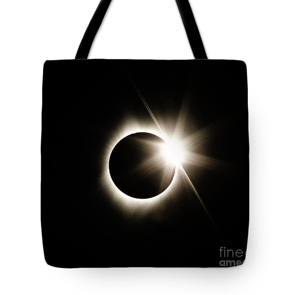 The Edge Of Totality Tote Bag