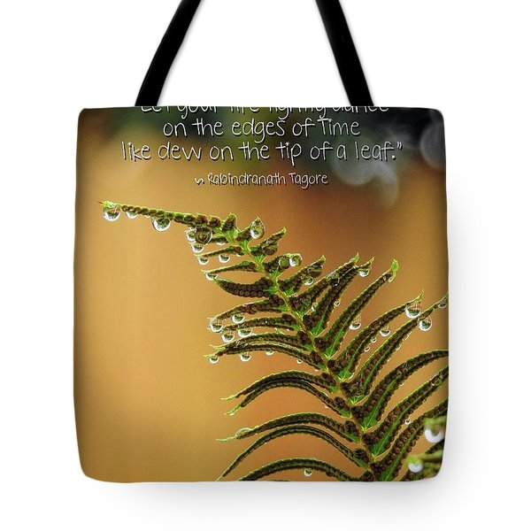 Tote Bag featuring the photograph The Edges Of Time by Peggy Hughes