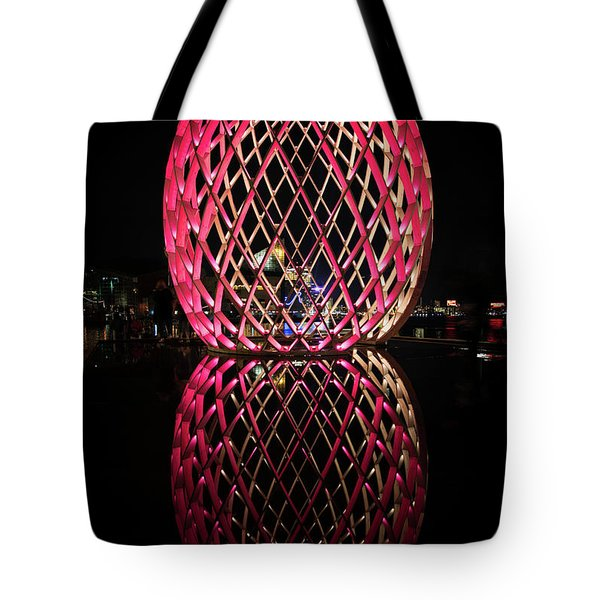 Tote Bag featuring the photograph The Egg by Mark Dodd
