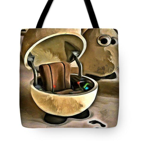 The Egg Pilot Tote Bag