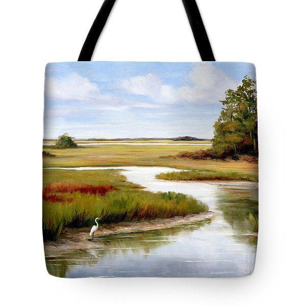 The Egrets World Tote Bag