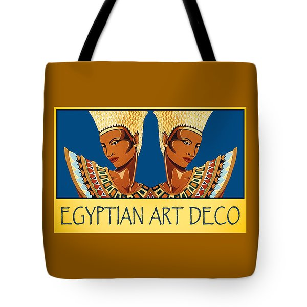 The Egyptian Twins Tote Bag by Tara Hutton