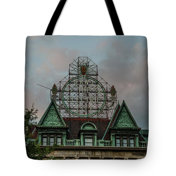 The Electric City Tote Bag