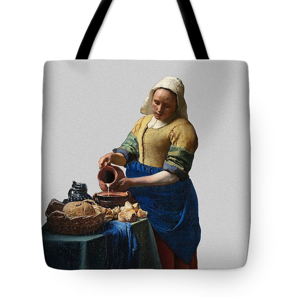 The Elegance Of The Kitchen Maid Tote Bag