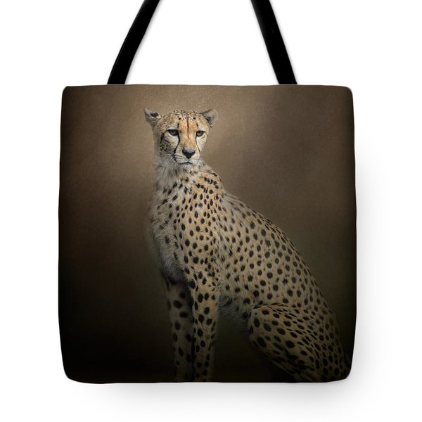 The Elegant Cheetah Tote Bag