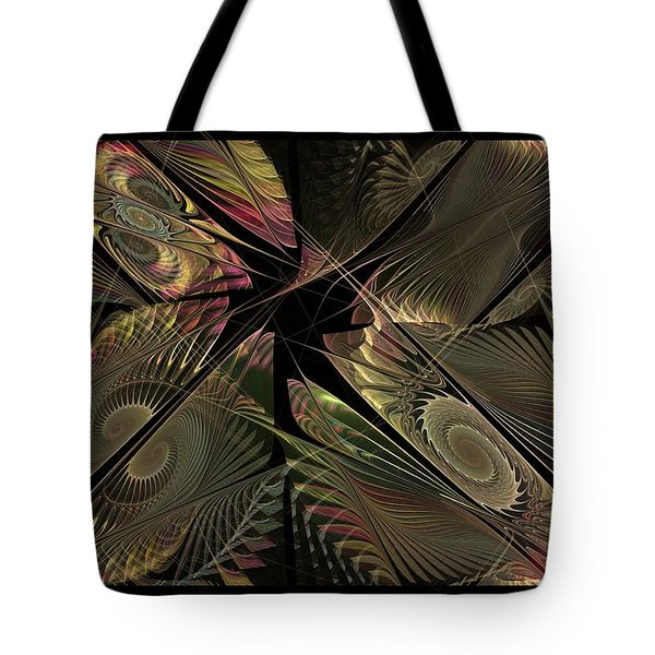 Tote Bag featuring the digital art The Elementals - Calling The Corners by NirvanaBlues