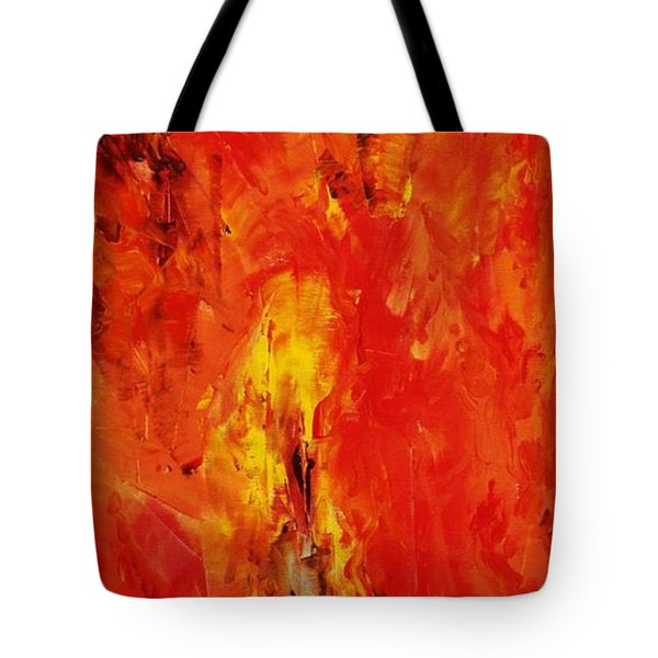The Elements Fire #1 Tote Bag
