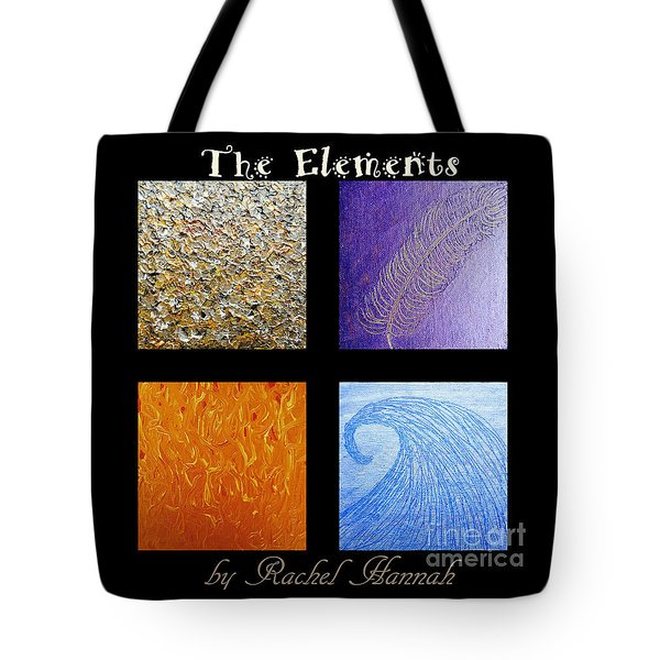 The Elements Tote Bag by Rachel Hannah