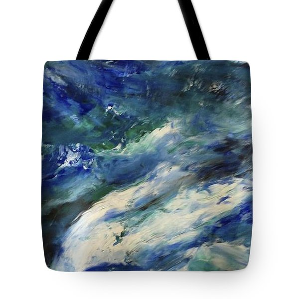 The Elements Water #4 Tote Bag