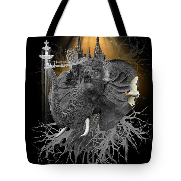 The Elephant Kingdom Tote Bag