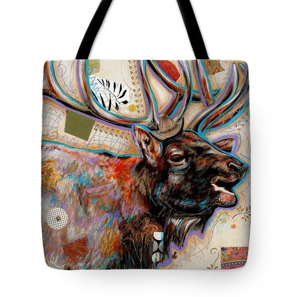 The Elk Tote Bag