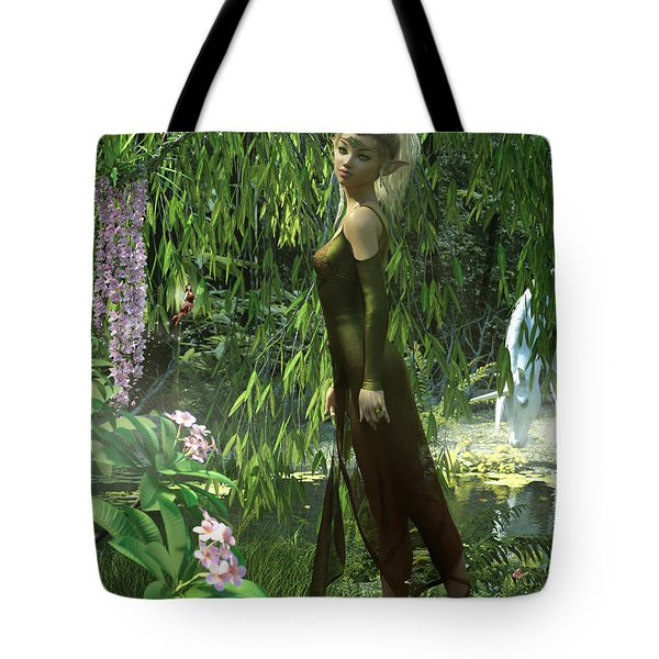 The Elven Realm Tote Bag