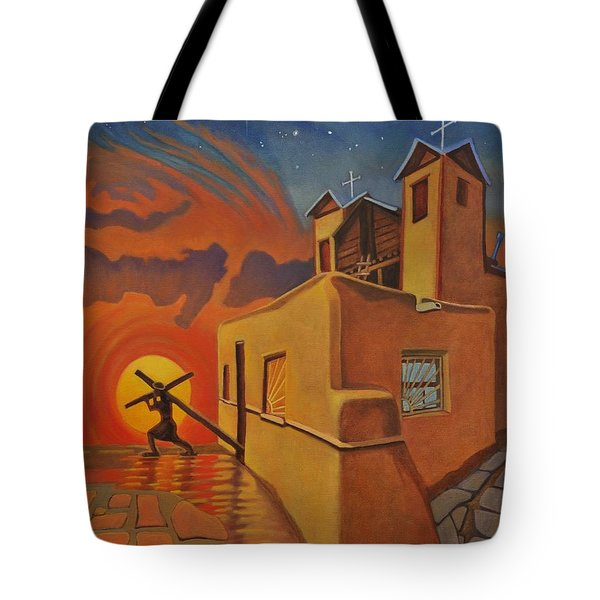 The Emancipation Of Christ Tote Bag