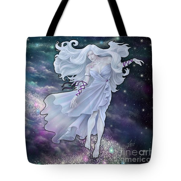Tote Bag featuring the digital art The Emancipation Of Galatea by Amyla Silverflame