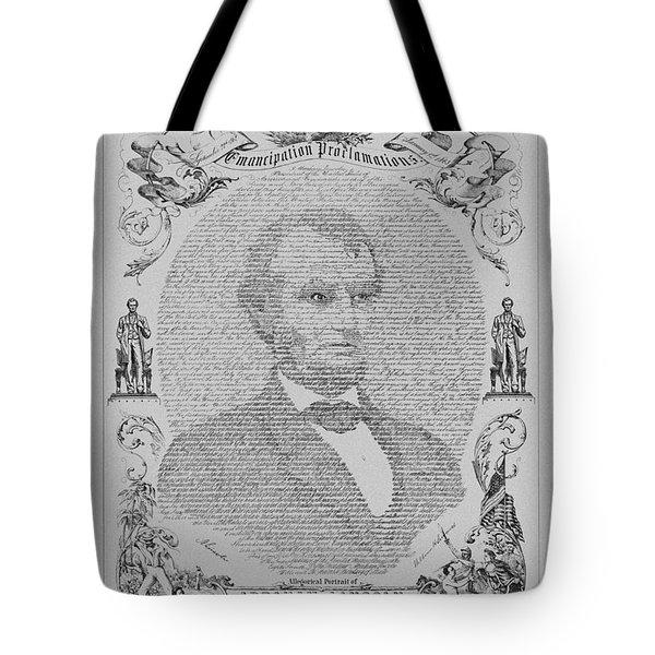 The Emancipation Proclamation Tote Bag