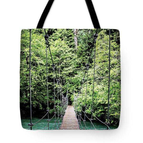 The Emerald Crossing Tote Bag