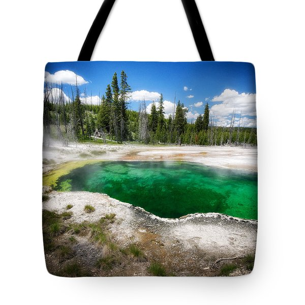 The Emerald Eye Tote Bag