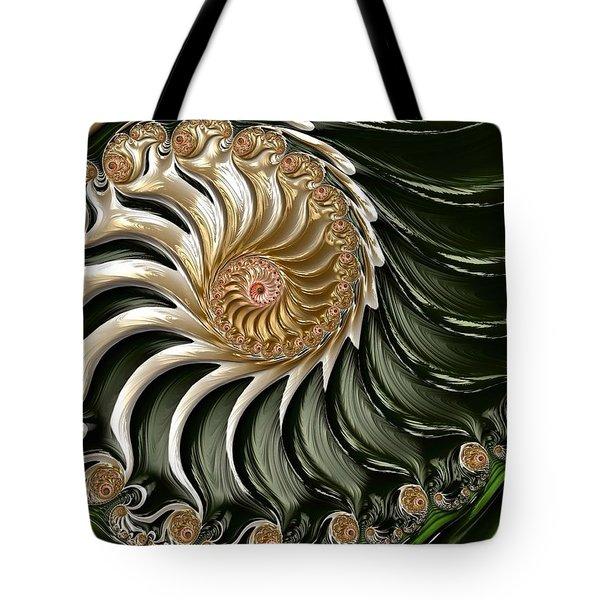 The Emerald Queen's Nautilus Tote Bag