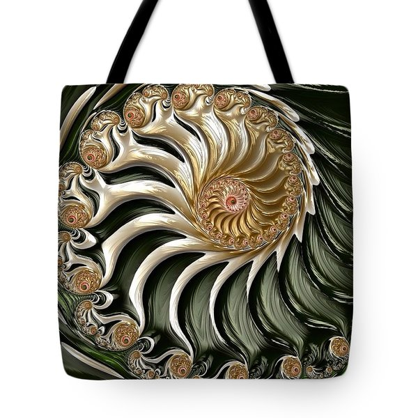 The Emerald Queen's Nautilus Tote Bag