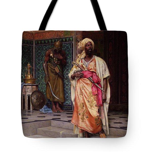 The Emir Tote Bag by Ludwig Deutsch