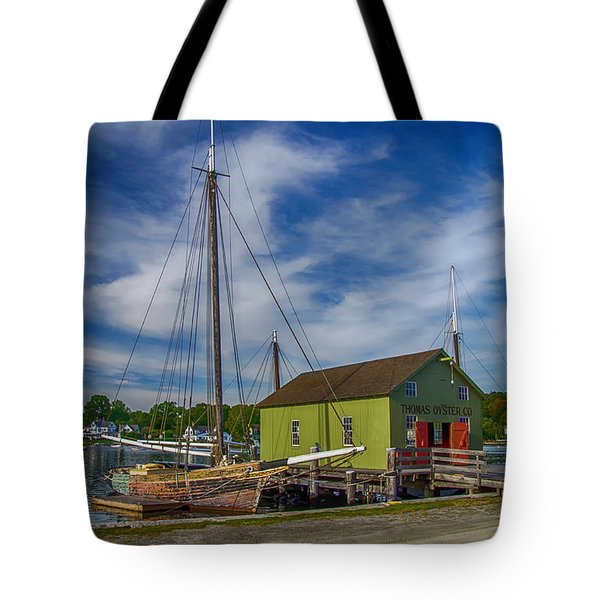 The Emma C. Berry, Mystic Seaport Museum Tote Bag