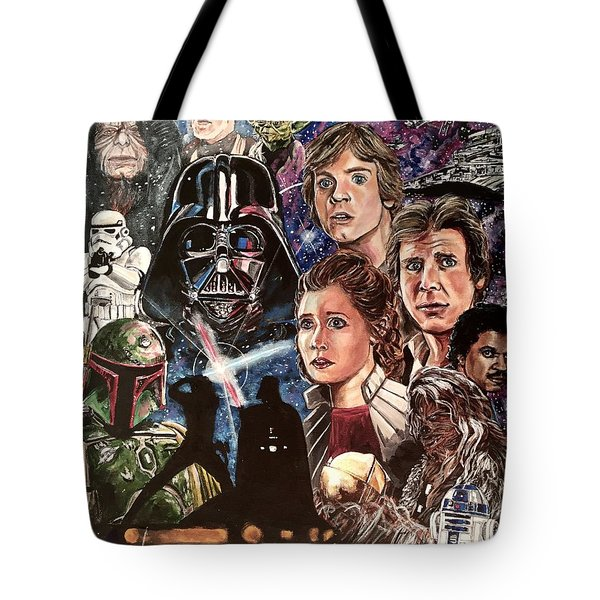 The Empire Strikes Back Tote Bag