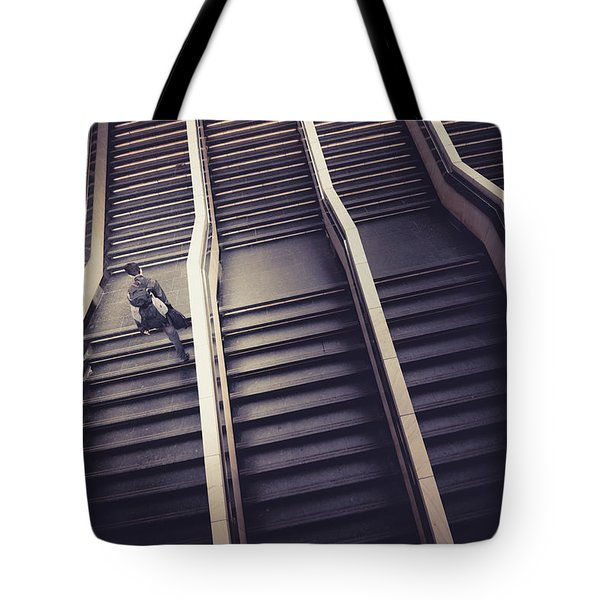 The Empty Train Tote Bag