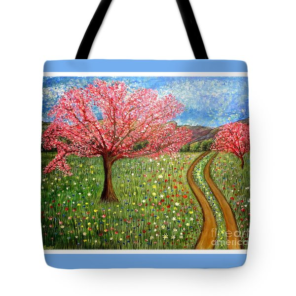 The Enchanted Fairy Garden Meadow Tote Bag
