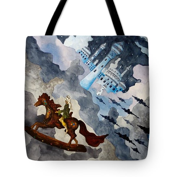 The Enchanted Horse Tote Bag
