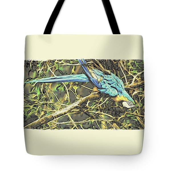 The Enchanted Jungle Tote Bag
