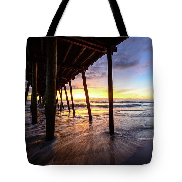 The Enchanted Pier Tote Bag