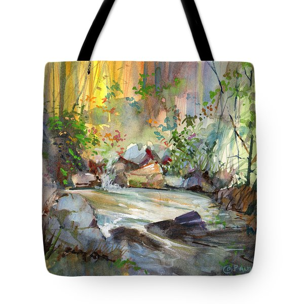The Enchanted Pool Tote Bag
