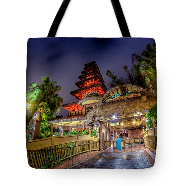 The Enchanted Tiki Room Tote Bag