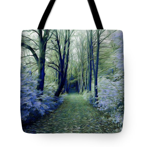 The Enchanted Wood Tote Bag by Chris Armytage