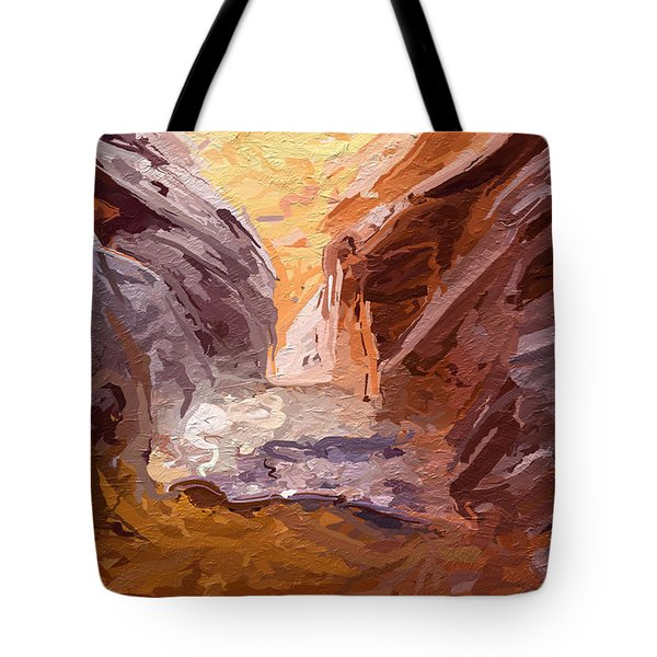 The Encroaching Ocean Tote Bag