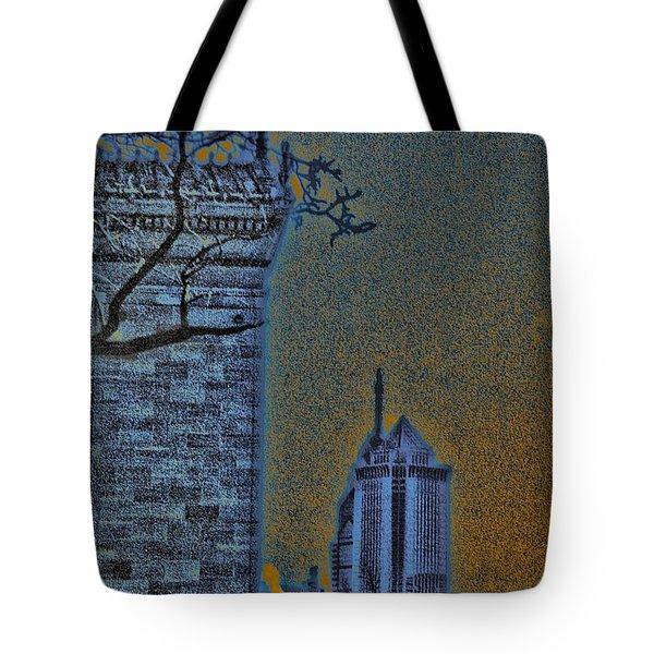 The Encroachment Upon Art Tote Bag