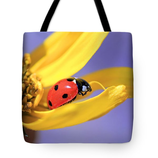 The End Tote Bag by Donna Kennedy