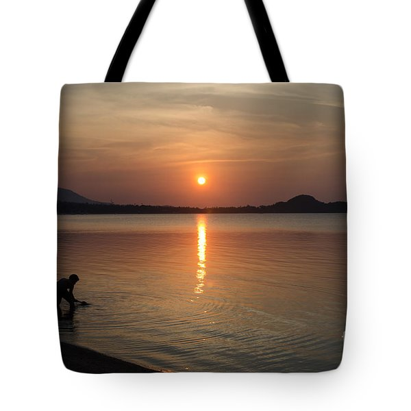 The End Of A Hot Day Tote Bag by Michelle Meenawong