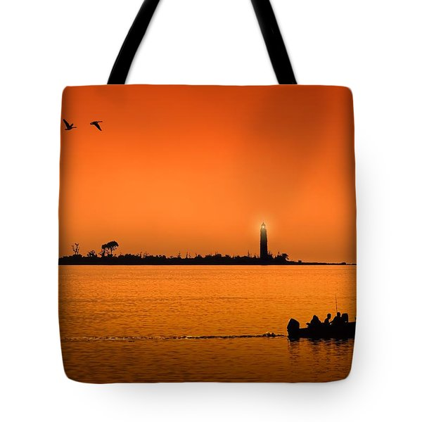The End Of A Wonderful Day. Tote Bag