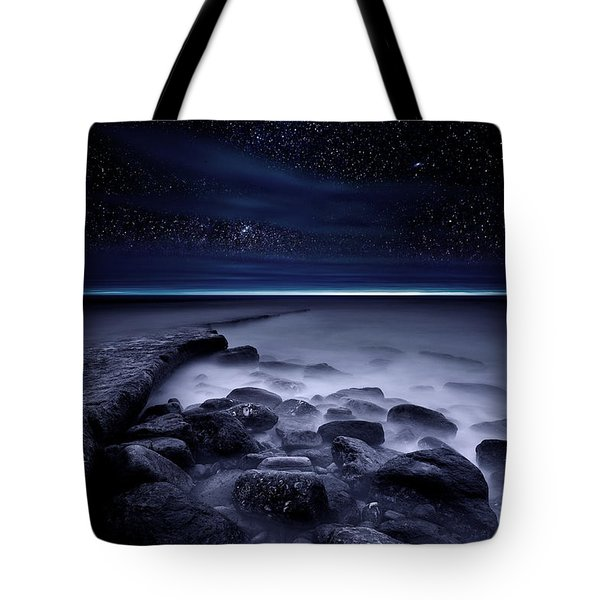 The End Of Darkness Tote Bag