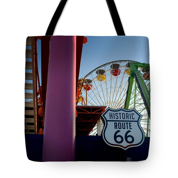 The End Of Route 66 1 Tote Bag