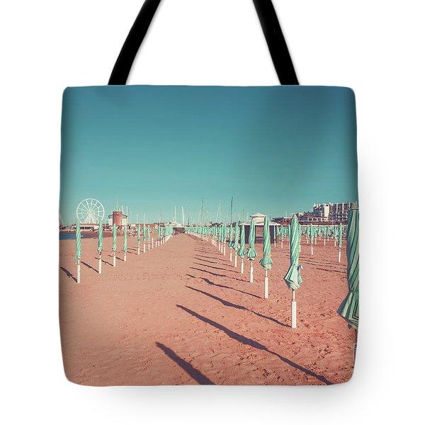 The End Of Summer Season  Tote Bag